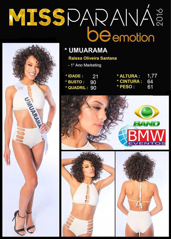 Miss Umuarama - Raissa Santana