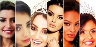 Candidatas Miss Paraná 2016