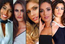 Candidatas do Miss Brasil 2016