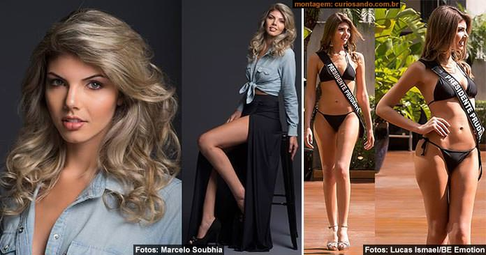 Miss Presidente Prudente 2016, Bianca Florentino Videira