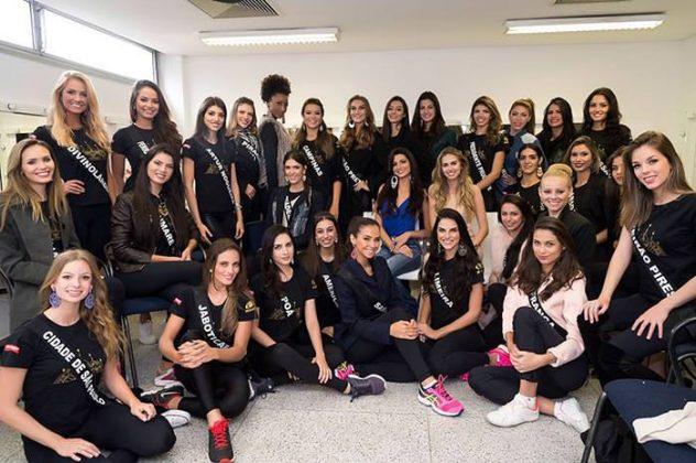 Ensaio do Miss São Paulo 2016