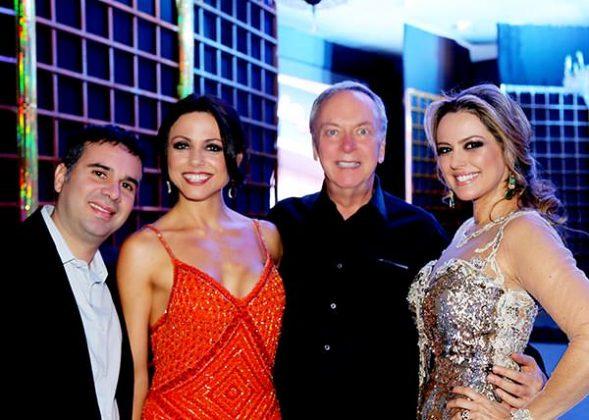 Roberto Y Pla, Carolina Portella, Howard Gillick e Flávia Cavalcanti