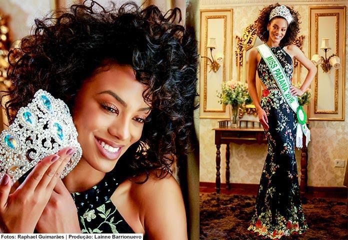 Raissa Santana - Miss Paraná Be Emotion 2016