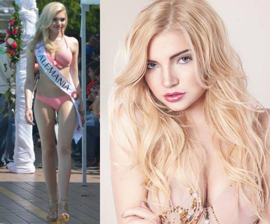 Miss Mundo Alemanha - Selina Kriechbaum
