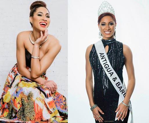 Miss Mundo Antígua e Barbuda - Latisha Greene
