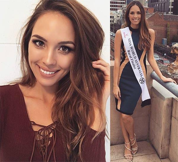 Miss Mundo Austrália - Madeline Cowe