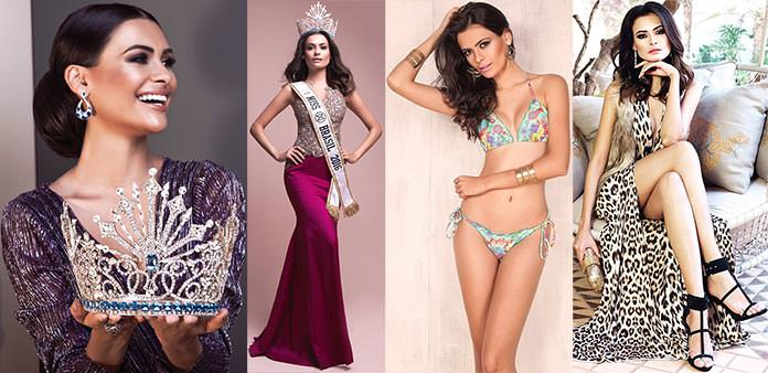 Miss Mundo Brasil 2016 Beatrice Fontoura