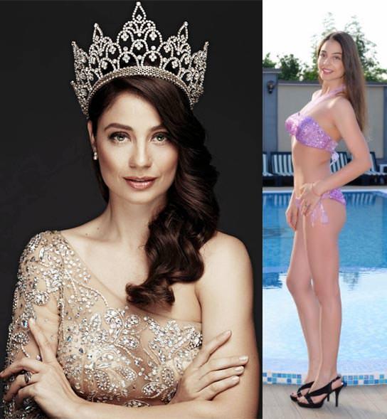 Miss Mundo Bulgária - Galina Mihaylova