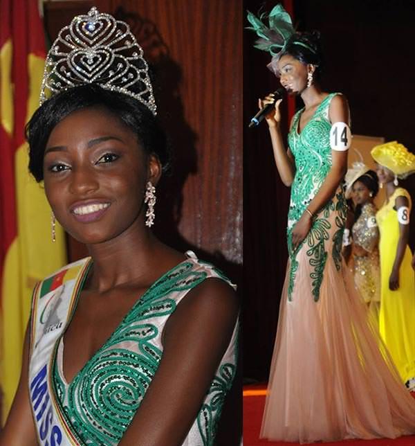 Miss Mundo Camarões - Julie Cheugueu