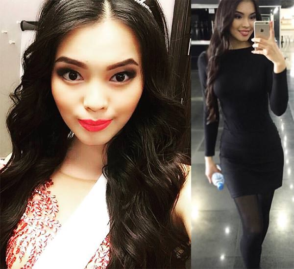 Miss Mundo Cazaquistão - Alia Mergenbaeva