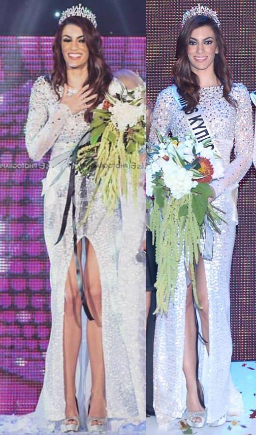 Miss Mundo Chipre - María Kosta