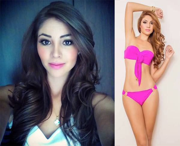 Miss Mundo Colômbia - Shirley Atehortua