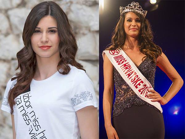Miss Mundo Croácia - Angélica Zacchigna