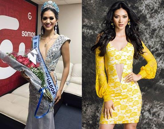 Miss Mundo Equador - Mirka Paola Cabrera Mazzini