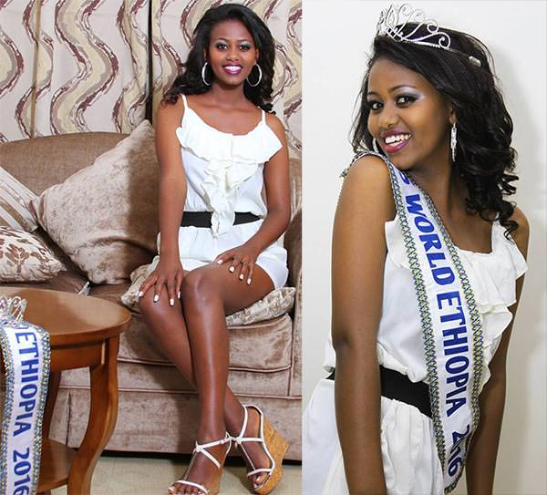 Miss Mundo Etiópia - Soliyana Assefa