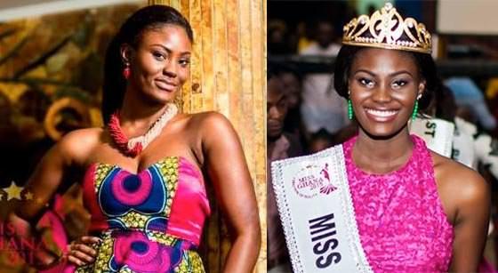 Miss Mundo Gana - Antoinette Delali Kemavor