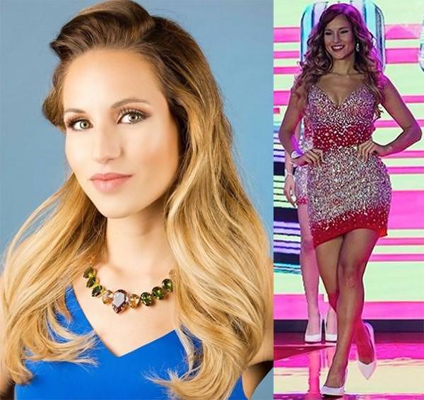 Miss Mundo Gibraltar - Kayley Misfud