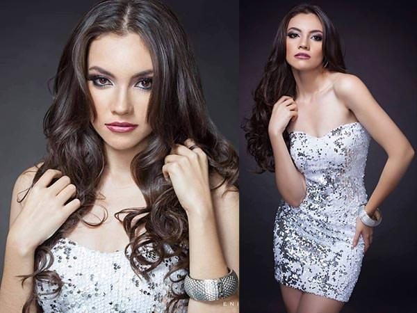 Miss Mundo Guatemala - Melanie Jeanett Espina