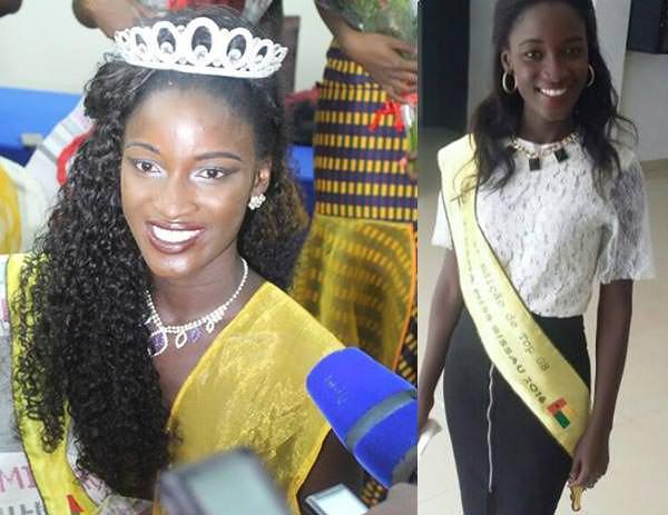 Miss Mundo Guiné-Bissau - Sandra Marisa Araújo Monteiro