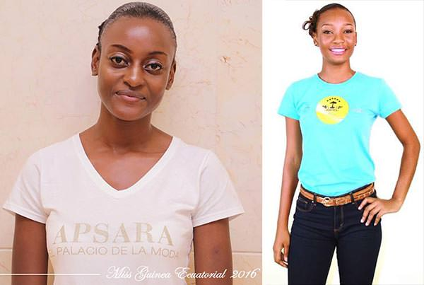 Miss Mundo Guiné Equatorial - Anunciación Ongueme Esono