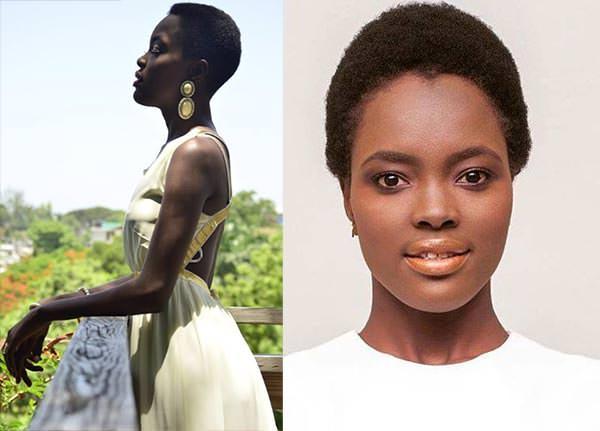 Miss Mundo Haiti - Suzana Sampeur