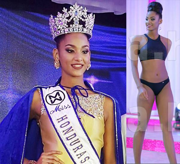 Miss Mundo Honduras - Kerelyne Campigotti Webster