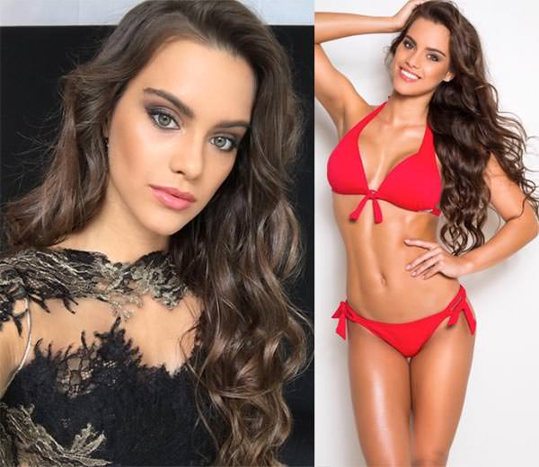 Miss Mundo Hungria - Tímea Gelencsér