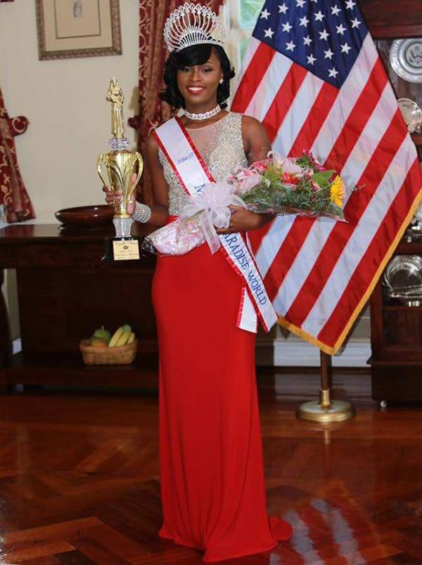 Miss Mundo Ilhas Virgens Americanas - Kyrelle Thomas