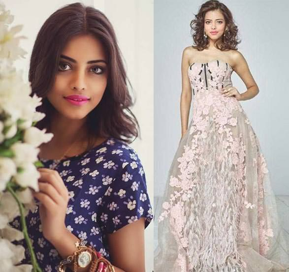 Miss Mundo Índia - Priyadarshini Chatterjee