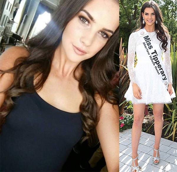 Miss Mundo Irlanda - Niamh Kennedy