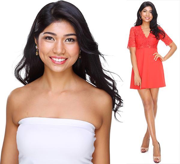Miss Mundo Japão - Priyanka Yoshikawa