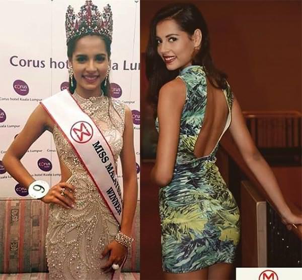 Miss Mundo Malásia - Tatiana Kumar