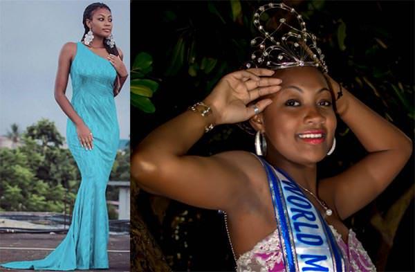 Miss Mundo Maurício - Véronique Allas