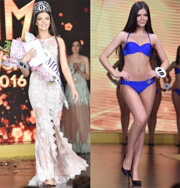 Miss Mundo Moldávia - Daniela Marin