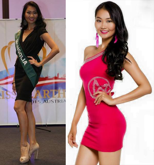Miss Mundo Mongólia - Bayartsetseg Altangerel