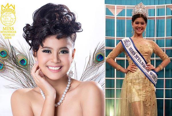 Miss Mundo Myanmar - Myat Thiri Lwin