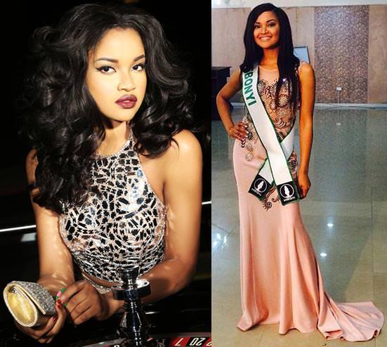 Miss Mundo Nigéria - Debbie Collins