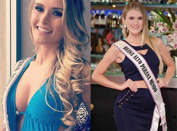 Miss Mundo Paraguai - Simone Patricia Freitag
