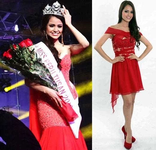 Miss Mundo Peru - Pierina Wong Mori