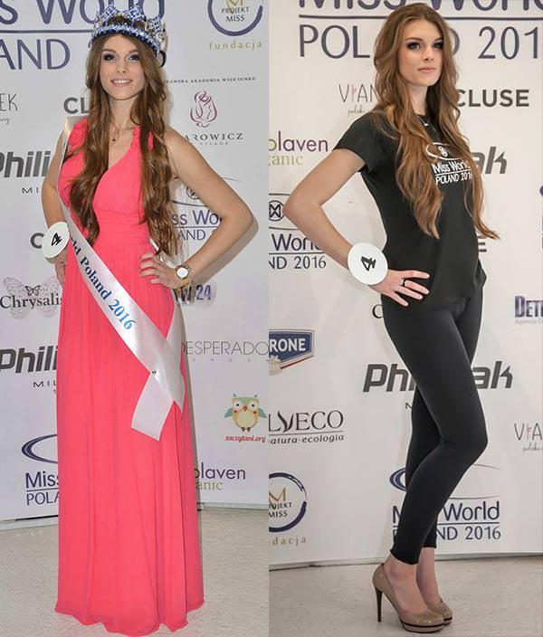 Miss Mundo Polônia - Kaja Klimkiewicz