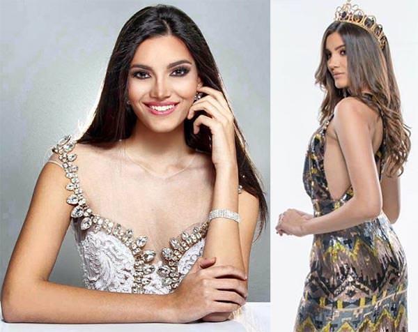 Miss Mundo Porto Rico - Stephanie del Valle
