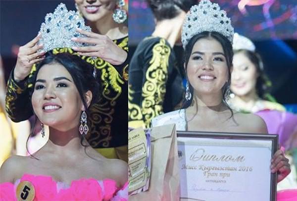 Miss Mundo Quirguistão - Perizat Rasulbek-Kyzy