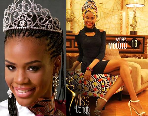Miss Mundo República Democrática do Congo - Andrea Moloto