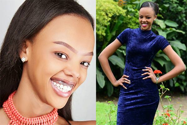 Miss Mundo Ruanda - Jolly Mutesi
