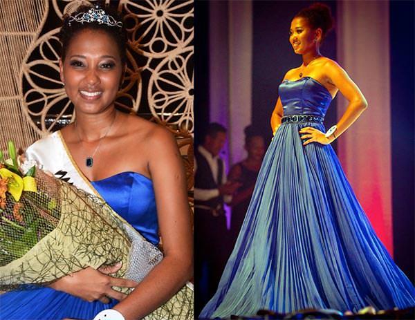 Miss Mundo Seicheles - Christine Barbier