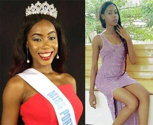 Miss Mundo Serra Leoa - Aminata Adialin Bangura