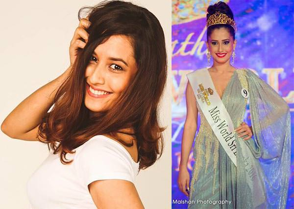 Miss Mundo Sri Lanka - Amritaa De Silva