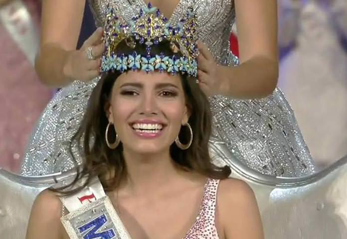 Stephanie Del Valle Miss Mundo 2016