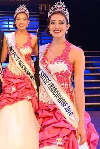 Miss Mundo Suíça - Amber Chavaillaz