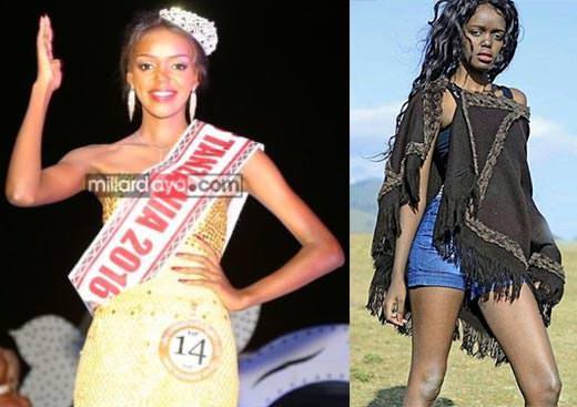 Miss Mundo Tanzânia - Diana Edward